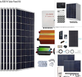 Living Off Grid - Solar Panel Kits - The 6 Best Solar Panel Kits for Home, RV and Sheds