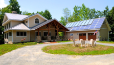 Homes for Off Grid Living in Maryland - Solar Powered Off Grid Cabin