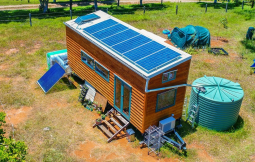 Off Grid Living - Arizona Solar Powered Off Grid Cabin 9