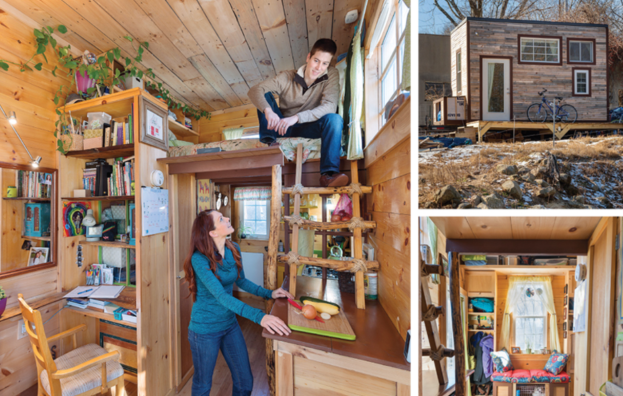Living Off Grid - Burrillville Couple Creates Minimalist Retreat Living in a Tiny House in Rhode Island