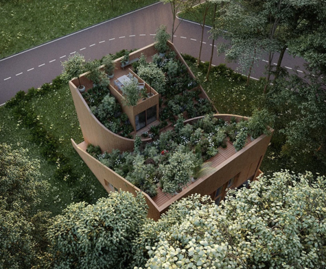 Living Off Grid - Dream of Living Off Grid? Be Inspired by the Self-Sufficient Yin Yang House in Germany