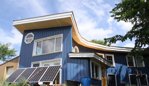 Living Off Grid in Wisconsin - Returning home, sustainably - Wisconsin native builds off-grid home