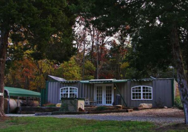 Living Off Grid - Oklahoma Man Makes Off-Grid Retreat from Shipping Containers